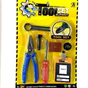 Kit de Ferramentas Infantil com 7 acessorios - BA17926 - 20 com