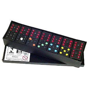 Jogo de Domino Plastico na caixa plastica - 1013