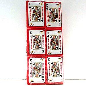 Jogo de Baralho MINI 7 Belllo - Jogo de Cartas - KIT COM 12 BARALHOS - Ref.R