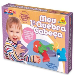 Brinquedo Educativo para bebes - Meu primeiro Quebra-Cabeca - Plasbrink - 0266