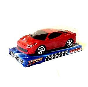 Carrinho a Friccao - Corrida Speedway Racing - 19 cm - Ref 0610 - Altimix