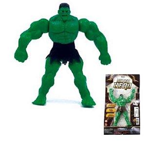 Boneco Articulado VERDE Super Hero 17 cm - 512