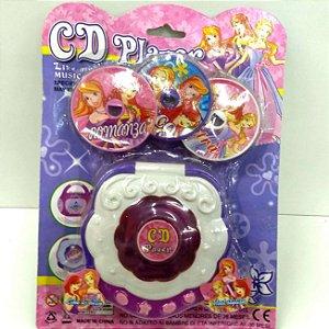 Toca CD - CD Player PRINCESAS - Ref.BRPG1920