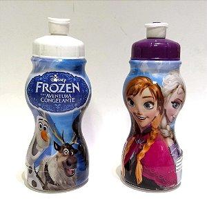 Garrafinha Sleeve Infantil com 250 ml - Squeeze FROZEN - 470812 - Plasduram