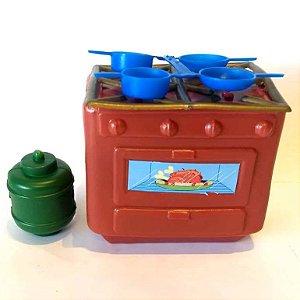 Fogao de brinquedo MINI - 8567 - Minitoys - ToysFestas