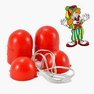 Nariz de Palhaco - kit com 10 - Ref.182 - Jaragua Toys