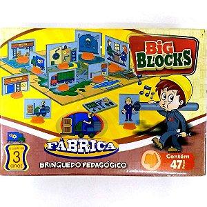 Jogo Pedagogico Brinquedo Educativo - Big Block FABRICA - IOB Madeira Ref.15
