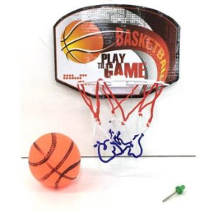 Cesta de Basquete mini - Jogo com bola, cesta e pino - Basketball Board PLAY THE GAME  BA11607