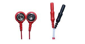 Eletrodo de Cárdio (ECG) - tipo Button - Embalagem com 5 unidades