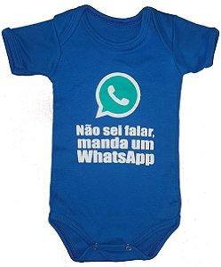 Não Sei falar Manda um Whatsapp