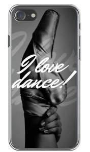CAPA APPLE IPHONE I LOVE DANCE