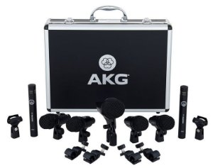 Kit De Microfones Para Bateria AKG Drum Set Session 1