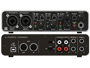 Interface de Audio Behringer U - Phoria UMC  204 HD