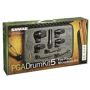 Kit Microfone Shure PGA Drum Kit 5