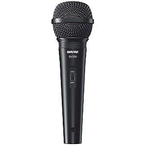 Microfone Shure SV200 (com fio)