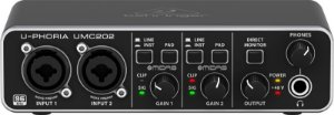 Interface de Audio Behringer UMC 202