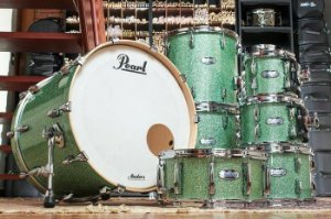 Bateria Pearl Master (somente tambores) 22' 08' 10' 12' 14'