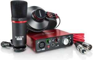 Interface de Audio Scarlett Solo Studio