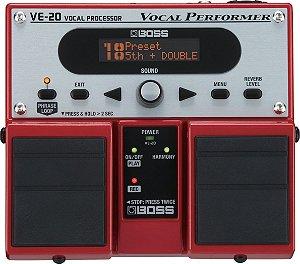 Pedal Boss VE-20 Efeito voz