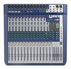 Mesa de Som Soundcraft Signature 16