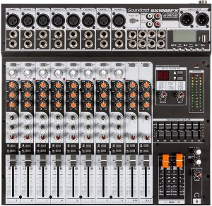 Mesa de Som Soundcraft Sx1202 FX Usb
