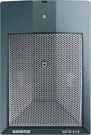 Microfone Shure - Microfone Para Bumbo Beta 91A