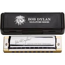Gaita Hohner Bob Dylan Signatures Series Harmonica C