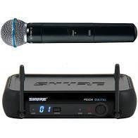 Microfone Shure PGX Digital Wireless System Beta 58A