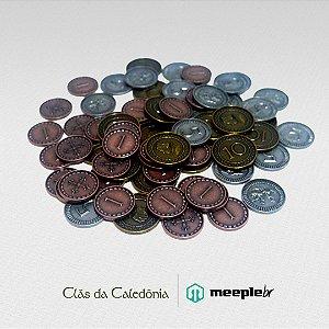 Moedas de metal - Clãs da Caledônia
