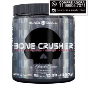 Bone Crusher- 300g Black Skull