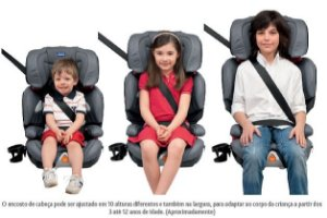 Cadeira Auto Oasys 2-3 Grey - Chicco