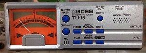 Afinador Boss TU-15 (usado)
