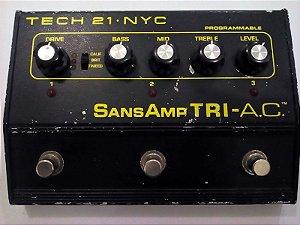 Pedal SansAmp TRI - A.C. Tech 21 NYC