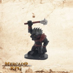 Blackscale Lizardfolk - Sem carta