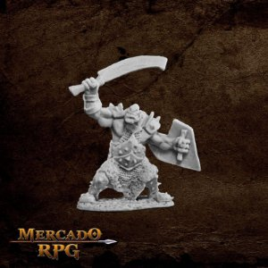 Orc Marauder (Sword and Shield)