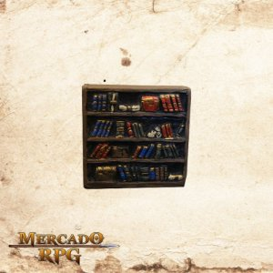 Estante de Livros