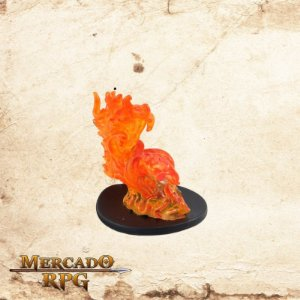 Large Fire Elemental - Com carta