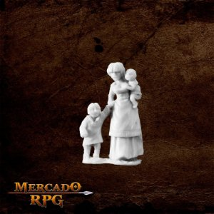 Townsfolk : Mom & Kids