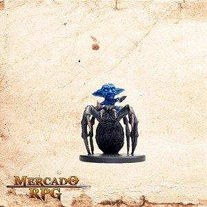 Mite on Spider