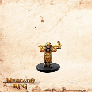 Gold Dwarf Female Cleric