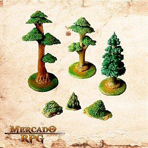 Kit Árvores e Arbustos