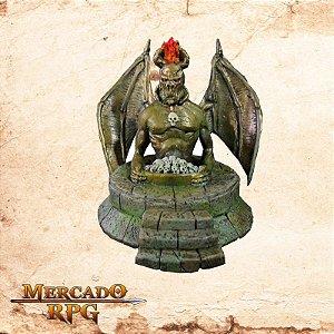 Estátua de demônio