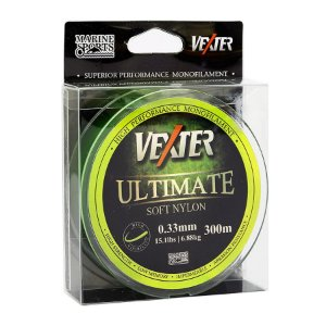 Linha Soft Vexter Ultimate Marine Sports 0.33mm 15,1lb 6,88kg 300m Amarela