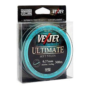 Linha Soft Vexter Ultimate Marine Sports 0.37mm 18,6lb 8,49kg 300m Azul