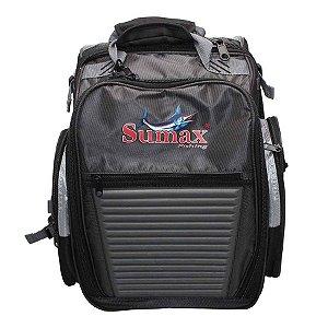 Bolsa Sumax SM-1203-BL 26l com 3 Estojos Preto