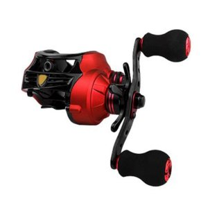 Carretilha Albatroz Fishing Coral 7.0:1 6 Rolamentos Red