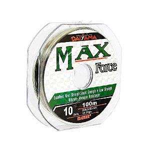 Linha Monofilamento Maruri Max Force 0.52mm 54lb 24,3kg 100m