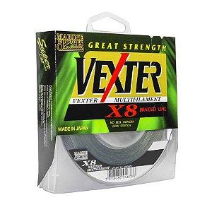 Linha Multifilamento Marine Vexter X8 0.25mm 30lb 13,6kg 300m