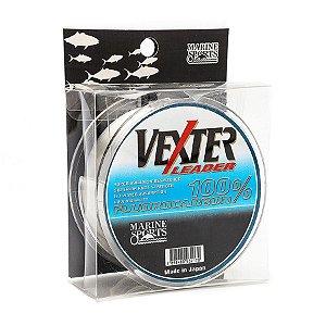 Linha Fluorocarbon Vexter Leader 0.37mm 17lb 8kg 50m