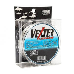 Linha Fluorocarbon Vexter Leader 0.42mm 21lb 9,5kg 50m